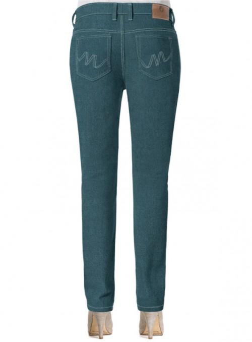 grüne high waist jeans