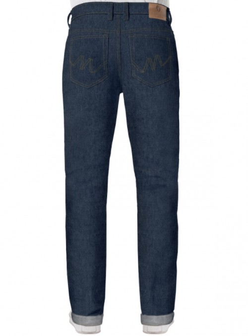 Selvage Loose fit straight Jeans