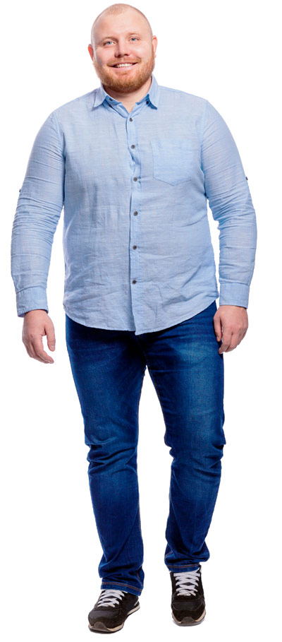 Jeans Übergrößen Männer
