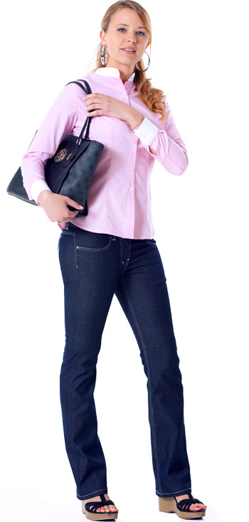 Jeans im Büro Damen