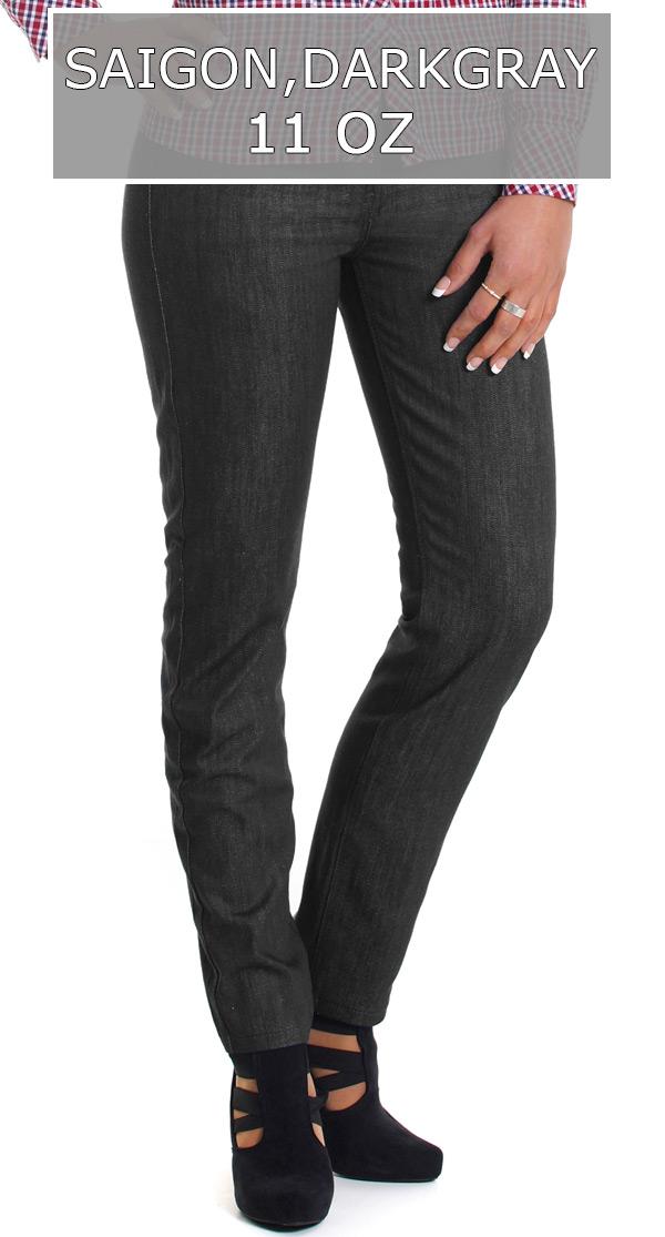 Raw Denim Jeans Damen 11 oz