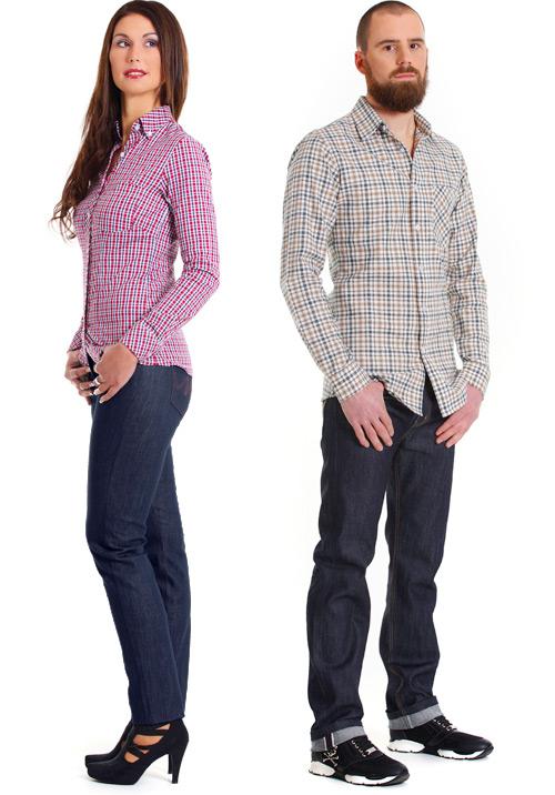 Raw Denim Jeans