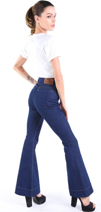 Schlaghose Damen Jeans