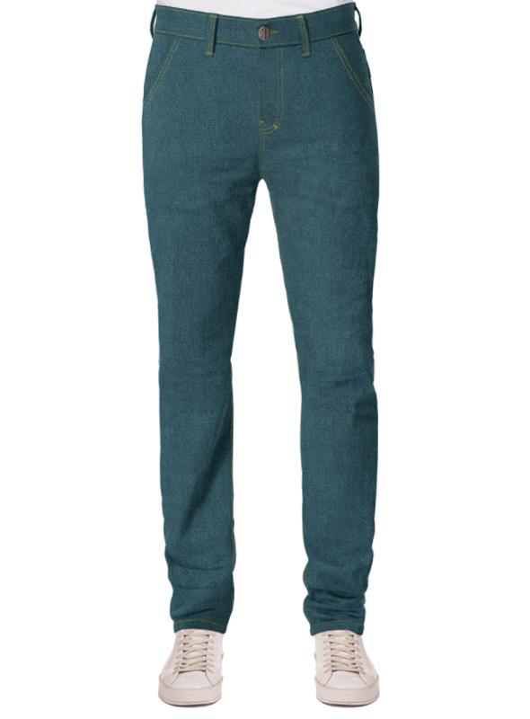 jeans herren grün