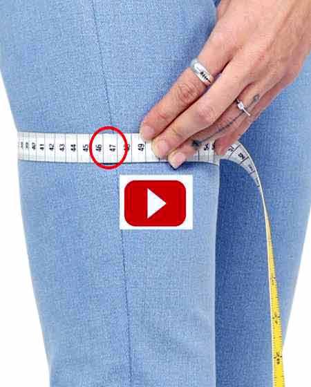 Maße für deine maßgeschneiderte Jeans, Vermessen für Herrenjeans und Damenjeans nach Maß